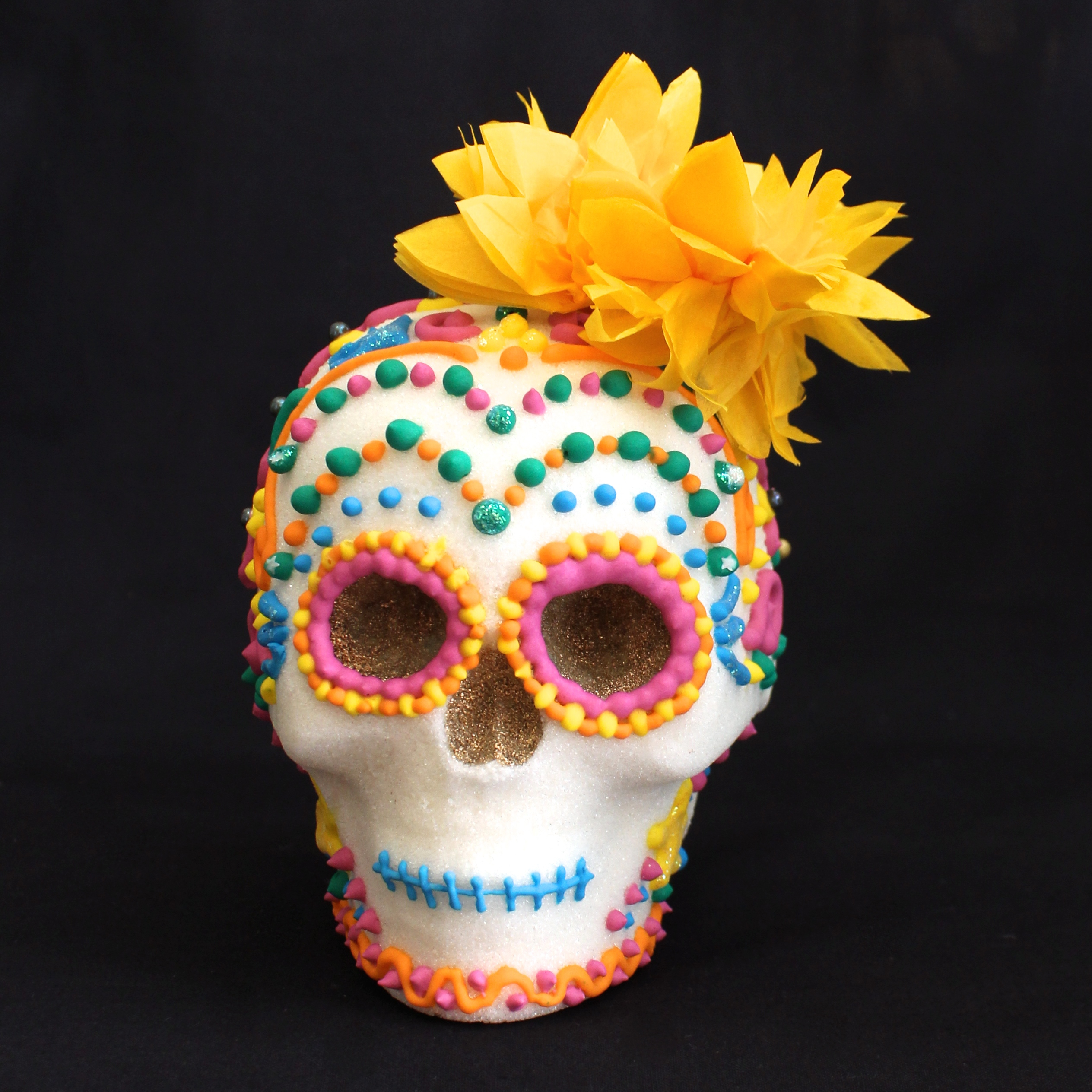decorated sugar skull