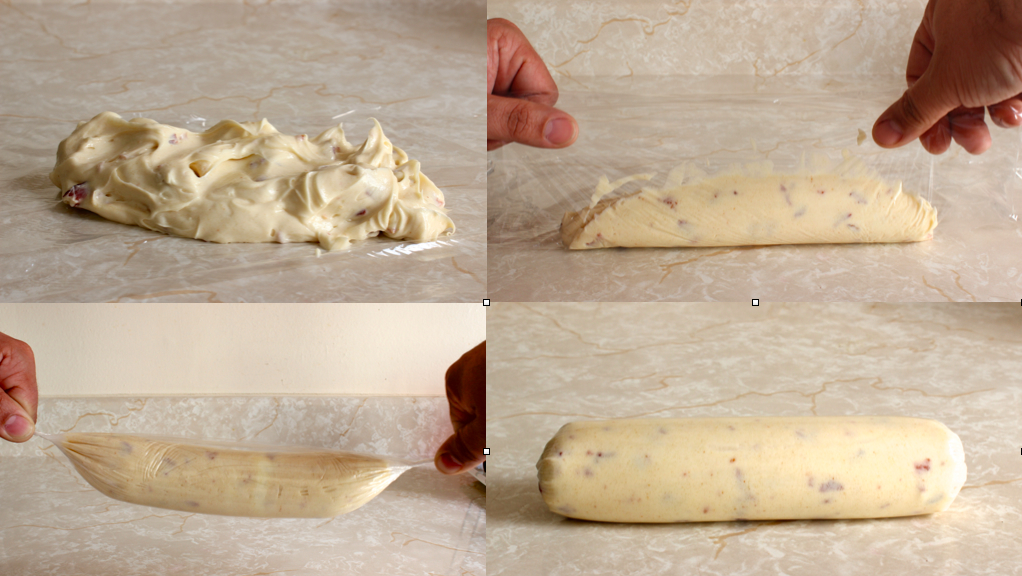 how to wrap the butter