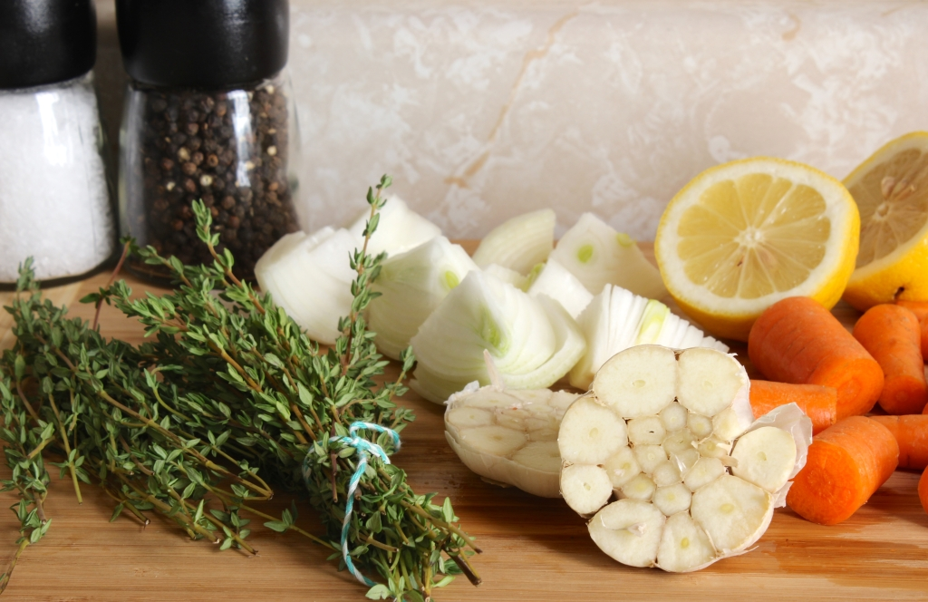 ingredients for roast chicken