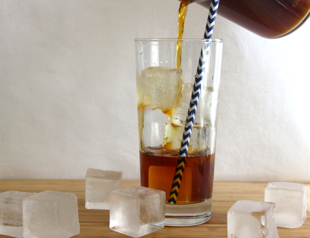 Cold brew over ice