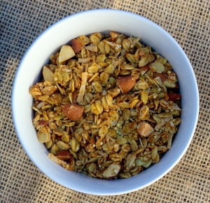 Bowl of Pumpkin Pie Granola