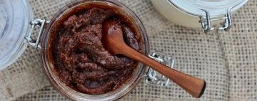 Cocoa-Coconut Sugar Scrub